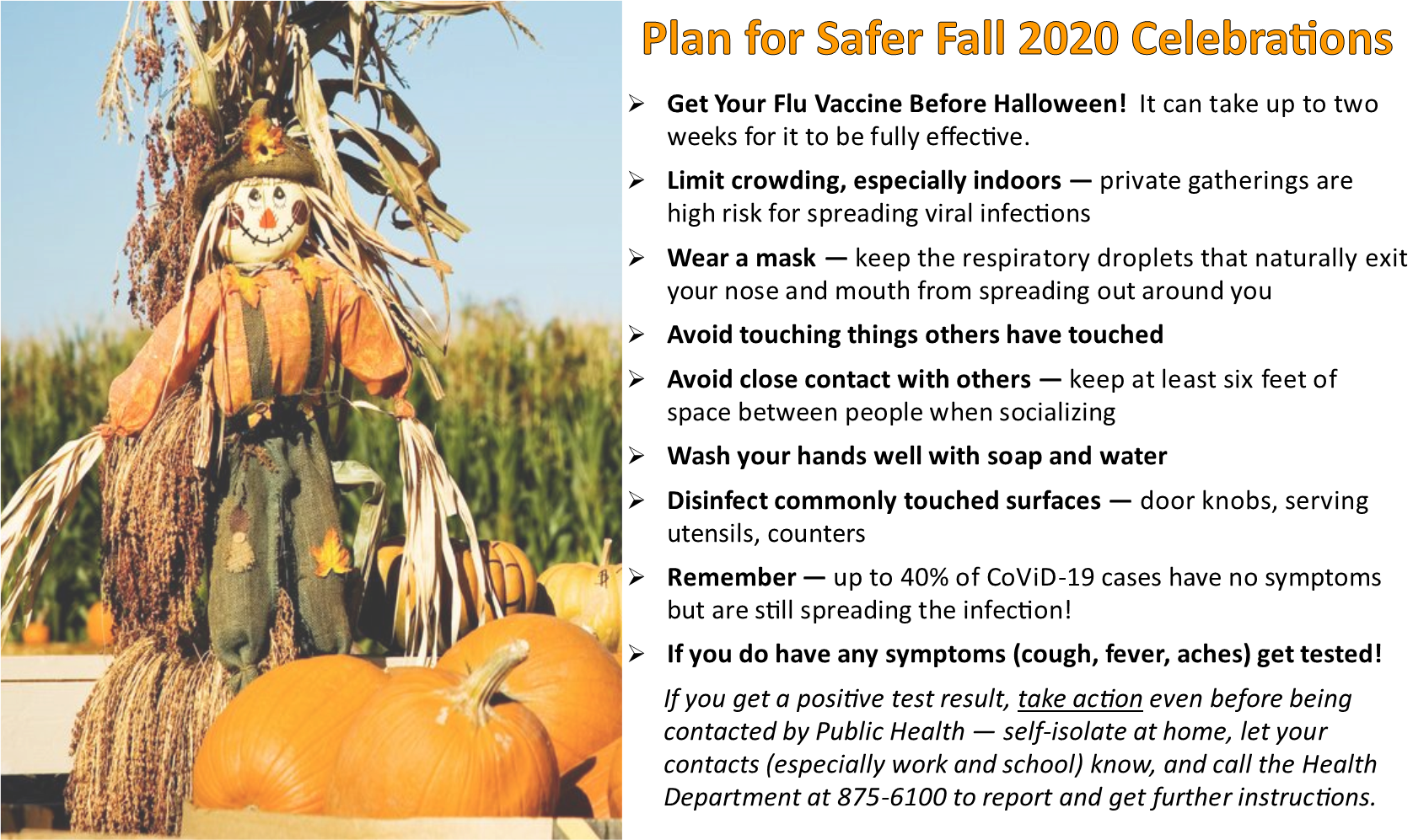 Fall Celebration Safety Tips to Stop Spreading Respiratory Viruses